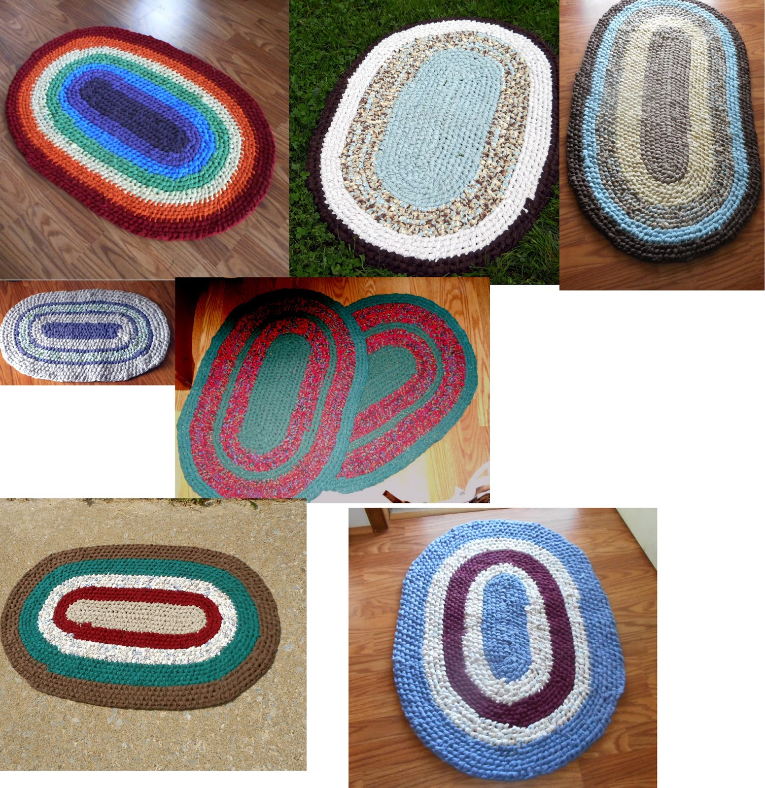 Youtube Toothbrush Rag Rug: Observations