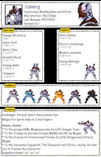 Cyborg Mugen Char