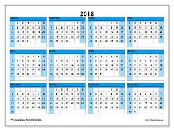 Calendário LMC 2018