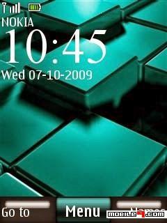Tema Nokia nokia aqua 3d