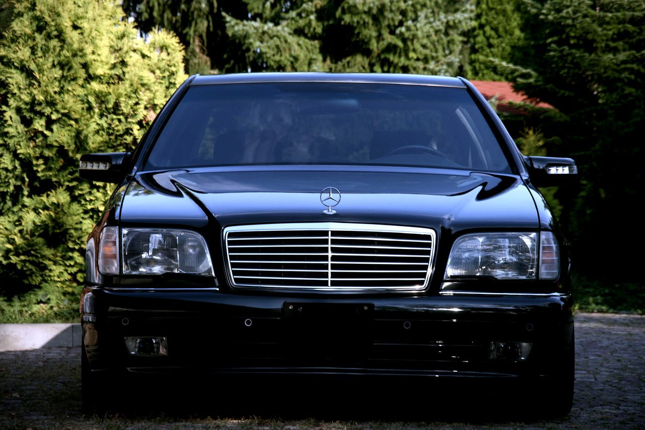 Mercedes benz w140 s600 lorinser black benztuning for S600 mercedes benz