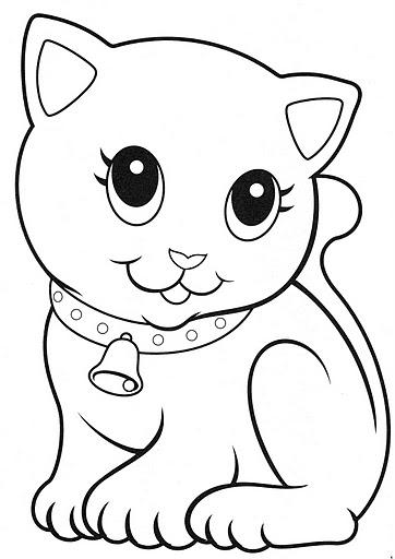 Mi colección de dibujos: Gatitos para colorear