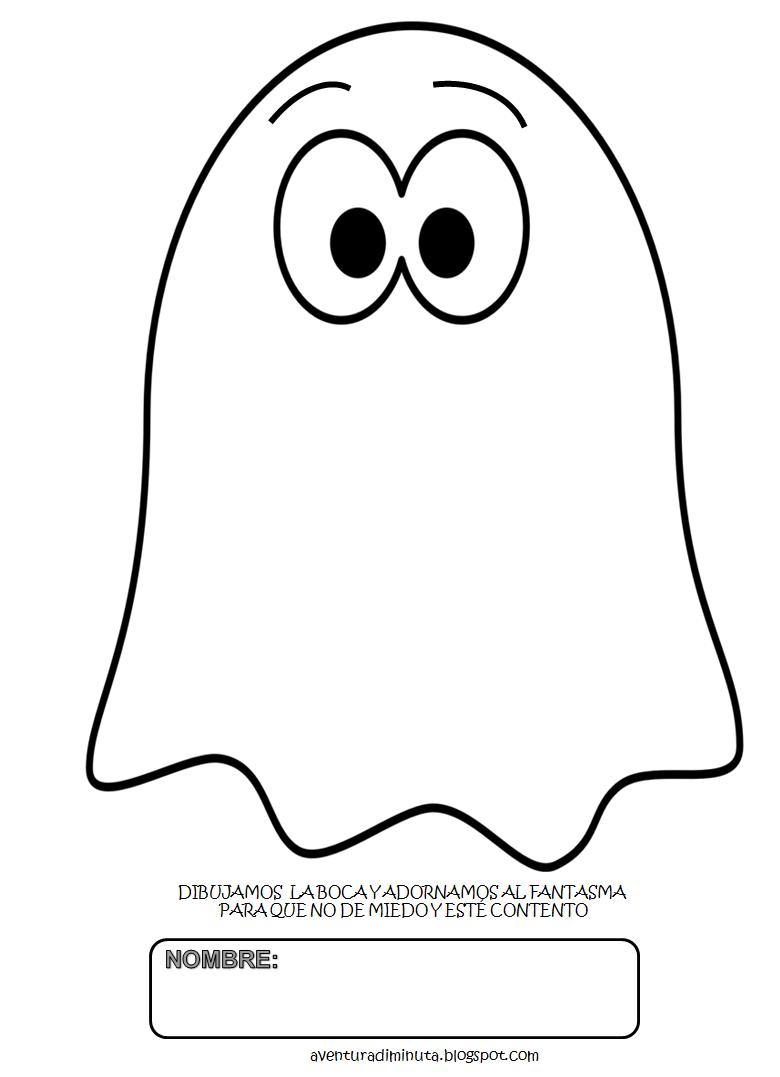 dibujo de fantasmas: