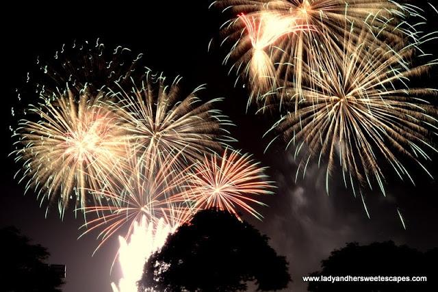 Eid Fireworks in Festival Marina