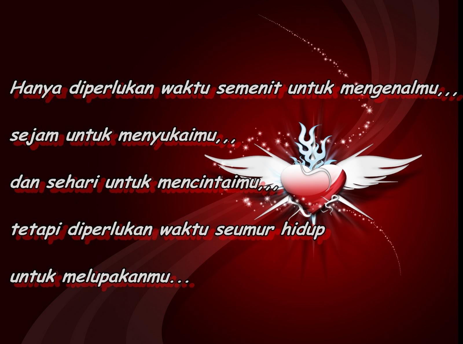 Cinta adalah naluri perasaan buat seseorang yang tidak bisa dibohongi ...
