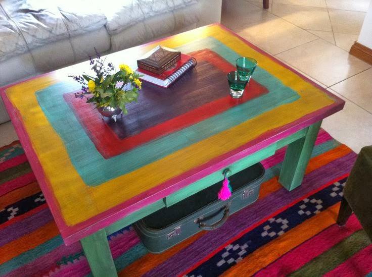 Igor botas cangrejeras y sandalias de agua blogger for Como pintar una mesa de madera