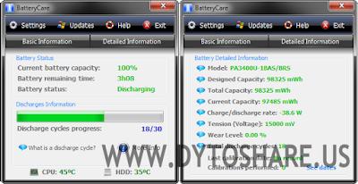 BatteryCare 0.9.25