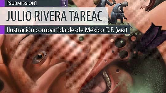 Ilustración. Cansado de JULIO RIVERA TAREAC
