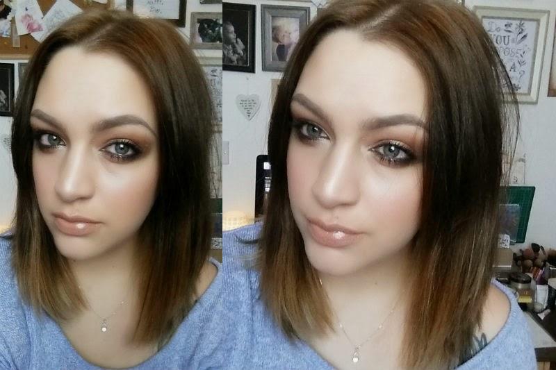 monday makeup, beauty, fotd, whenflowersfall