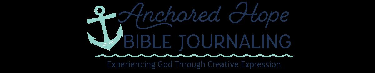 Anchored Hope Bible Journaling