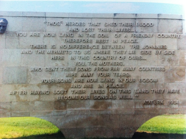 anzac cove gallipoli ataturk poem