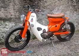 Modifikasi Honda c70 Kalong JapStyle