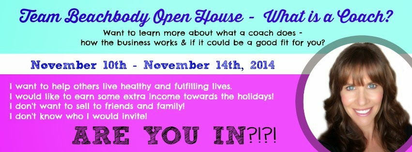 Team Beachbody Open House, What is a Coach?  Healthy Living, Fulfilling Lives, Extra income