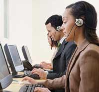 Asian call center offshore