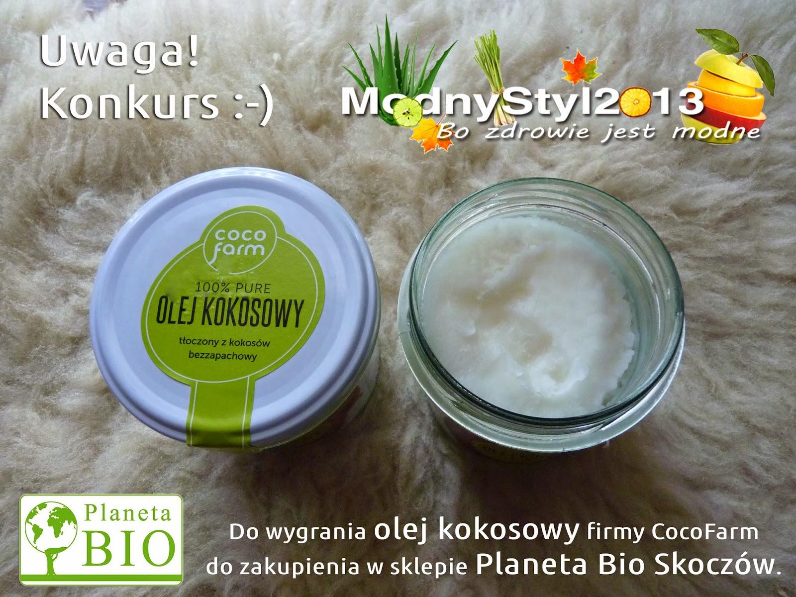 UWAGA KONKURS! - Do wygrania olej kokosowy!