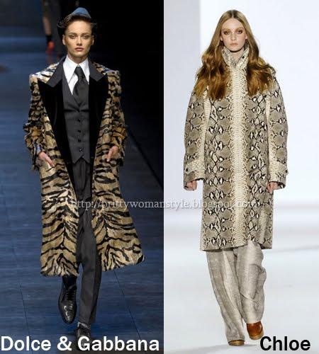 кожени палта - имитации на животинска кожа