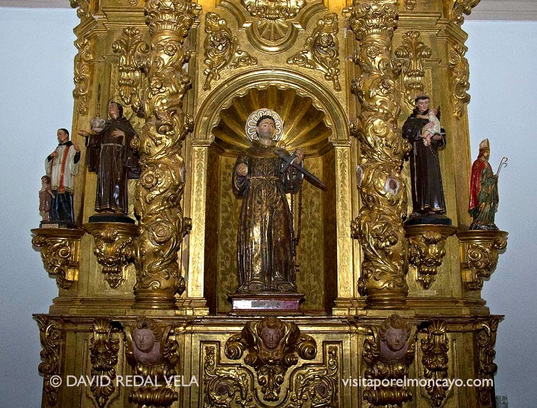 Retablo de San Diego de Alcalá Iglesia Nuestra Señora del Romero de Cascante