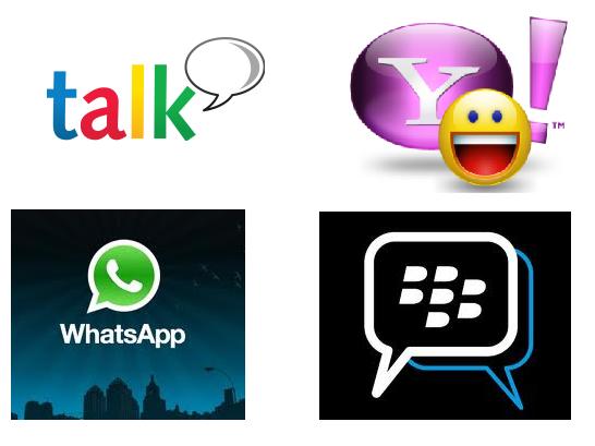 ... wchat tumblr kik messenger kakao talk klikmessenger aplikasi messaging