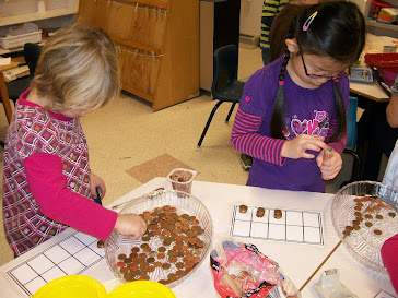 COUNTING PENNIES ON 10 FRAME