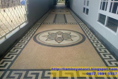 Tukang Taman Surabaya Carport Motif Lingkaran