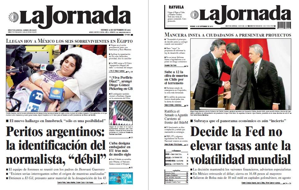 noticias guerrer s sme peri dicos la jornada peritos On noticias del espectaculo mexicano mas recientes