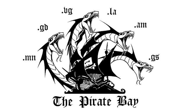 The Pirate Bay ficou fora do ar hoje