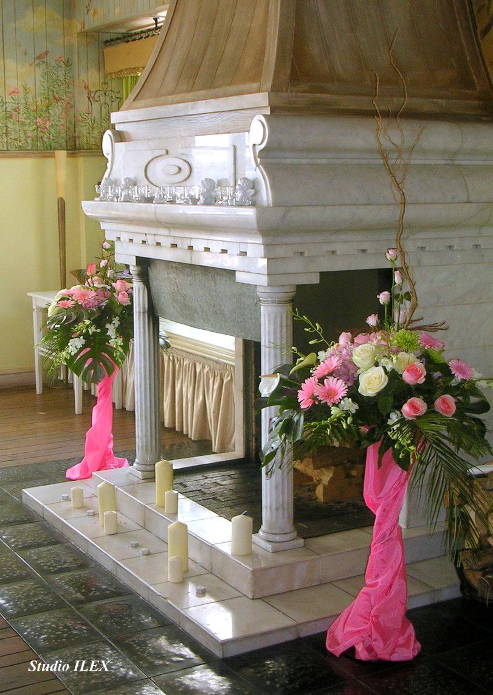 Розовая свадьба Свадебные фото Студия Илекс-флористика и дизайн