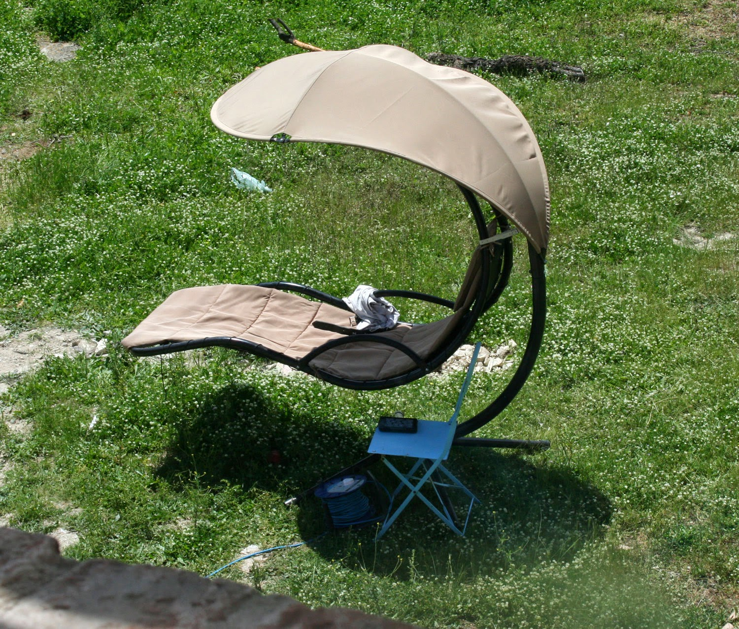 New location for the sun chair