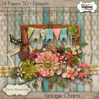 Vintage Charm by Optic Illusions