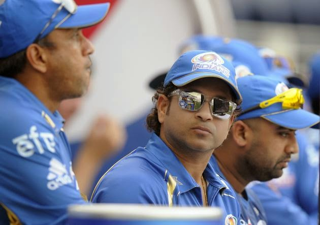 Sachin Tendulkar In IPL 7 Pictures - Icon of the Mumbai Indians