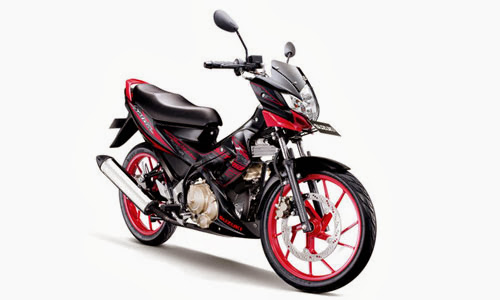 FOTO GAMBAR NEW SUZUKI SATRIA F150 BLACK FIRE MODIF