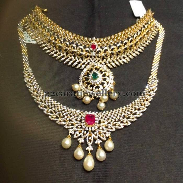 Latest Diamond Sets by Premraj Jewellers