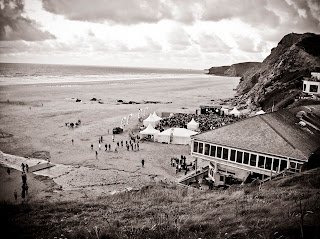 Electric beach festival Watergate Bay Cornwall