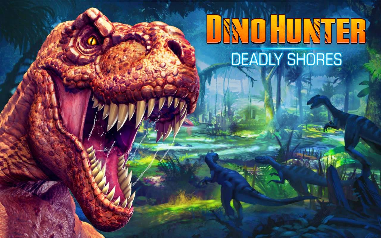 Dino Hunter: Deadly Shores v1.3.0 Full Apk Mod [Money]