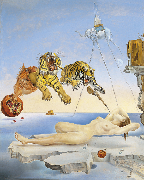Obras de Arte Dali-tigres