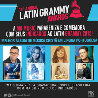 A MK Music está no Grammy Latino 2015