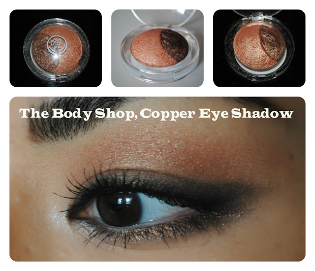 the body shop eye shadow copper