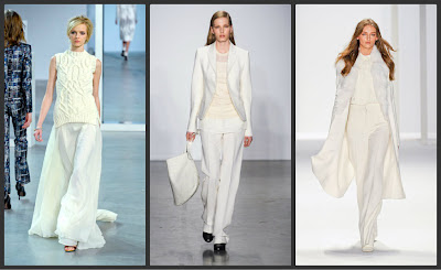 Wear white after labor day trending fall 2012