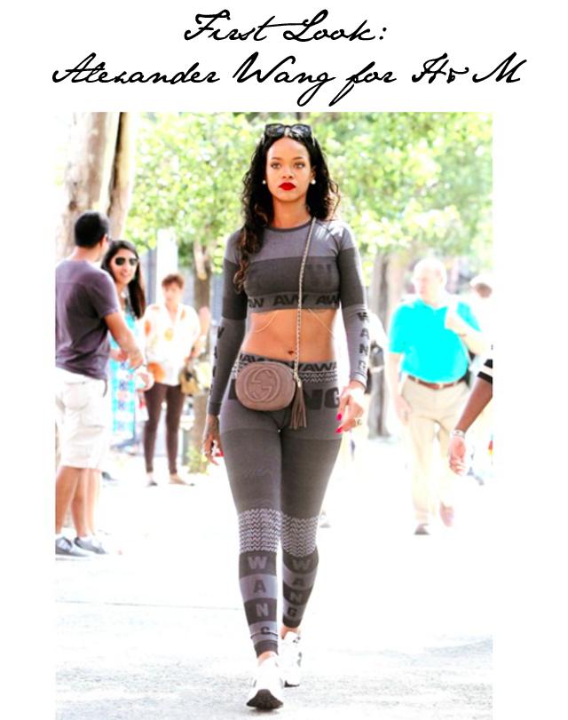 Rihanna Alexander Wang H&M