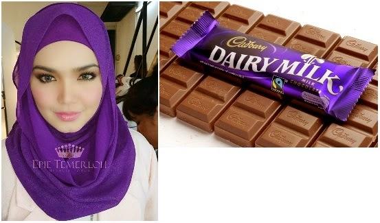 Dato' Siti Nurhaliza dan Cadbury   Siti Model Duta Iklan Cadbury #
