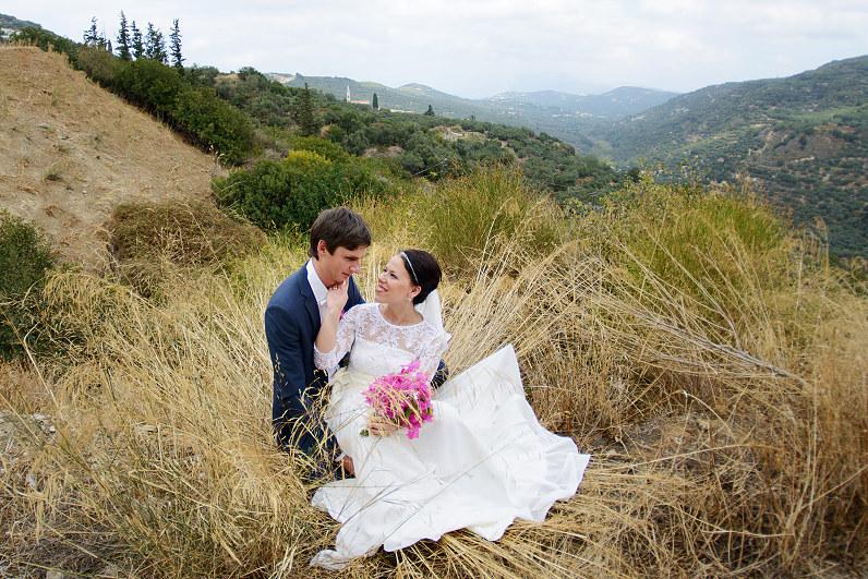 gražios vestuvinės nuotraukos iš Graikijos