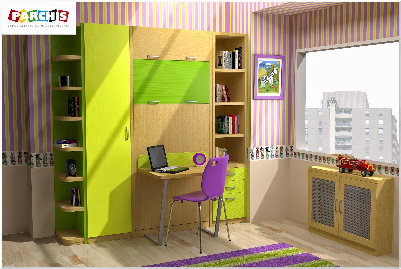Muebles juveniles dormitorios infantiles y habitaciones - Modelos de habitaciones infantiles ...