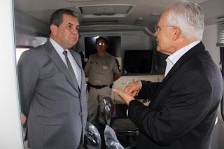 Em inauguração de base da PM, presidente do TJ destaca importância da mediação
