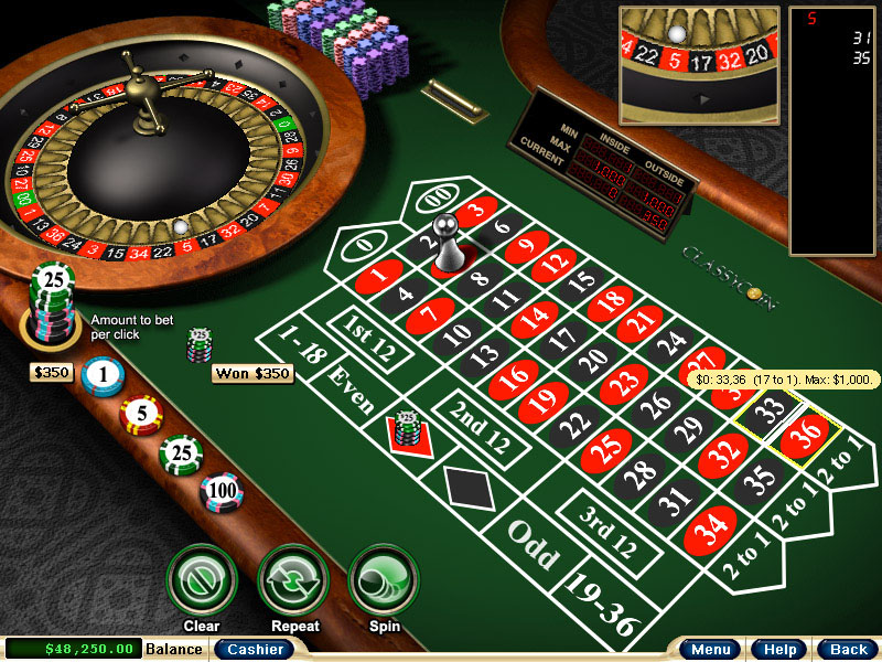 Used roulette tables