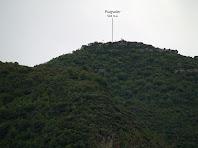 El Puigsoler des del Camí de Sant Jaume de Vallhonesta