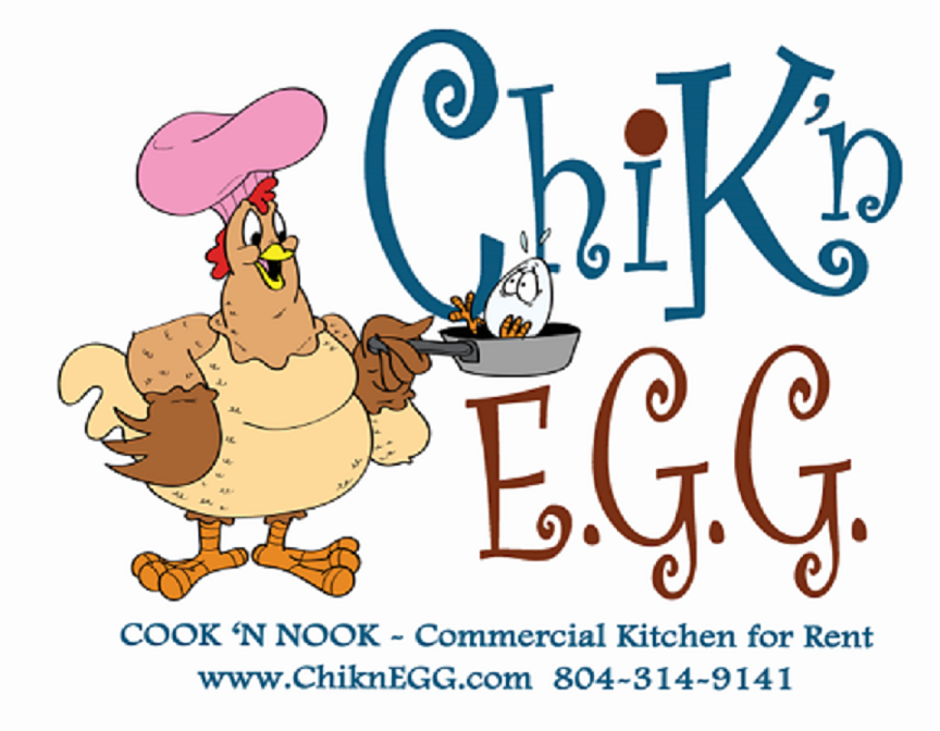 ChiknEGG's Cook 'N Nook is a commercial kitchen for rent by the hour in Goochland, VA