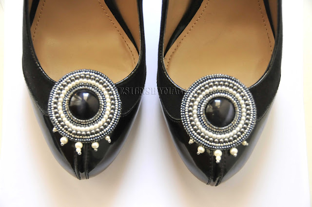 Pearl Shoe Clips