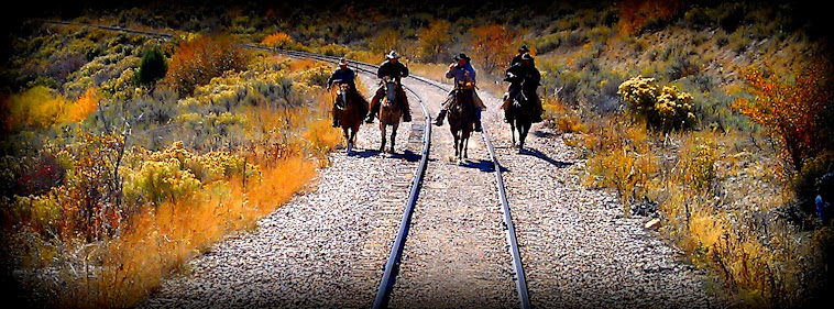 Outlaws Chasing the Train