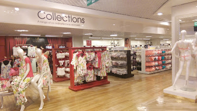Debenhams Glasgow Lingerie Department