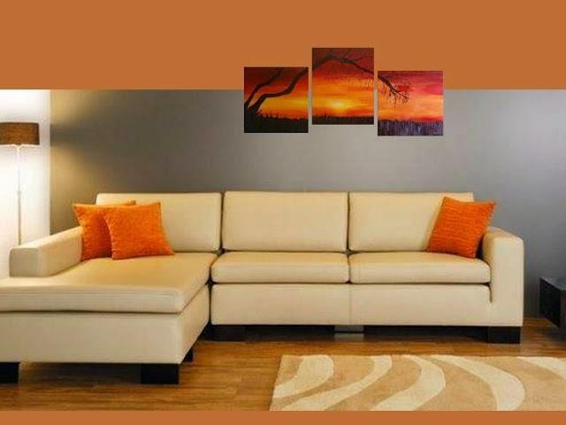 Tendencia en decoraci n los cuadros pol pticos revista - Pintar un cuadro moderno ...